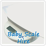 Digital Baby Scale Hire