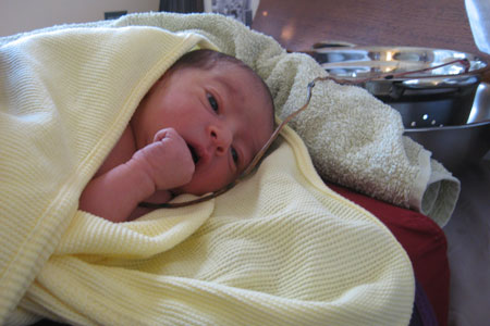 Jayden's Lotus Birth 6