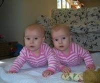 Rossie and Majella 5 months