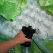 How to Setup a Birth Pool - Inflating